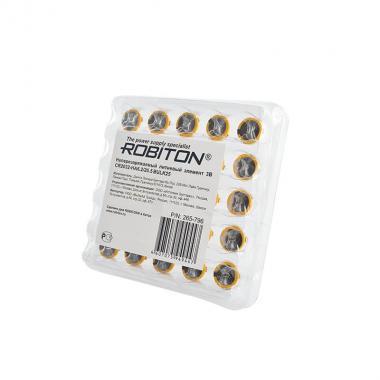 Элемент питания CR2032 Robiton CR2032-HA6.2/20.5, 25 шт