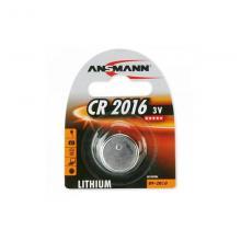 Элемент питания CR2016 Ansmann 5020082, 1 шт