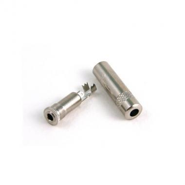 Разъем Jack 3.5 stereo(f) кабельный MRC MRJM240SF