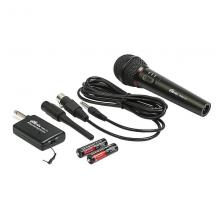 Радиомикрофон Ritmix RWM-101 black