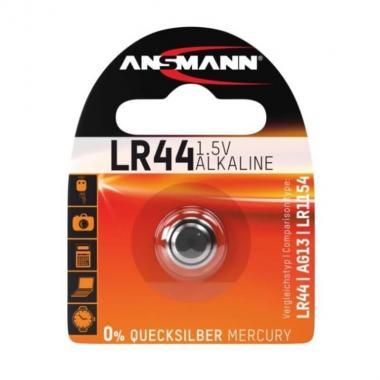 Батарейка LR44 Ansmann 5015303, 1 шт