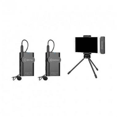 Двухканальный беспроводной микрофон Boya BY-WM4 Pro-К4