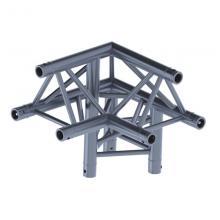 Угловой модуль для 3-х ферм 90гр треугольный Involight ITX29-C15