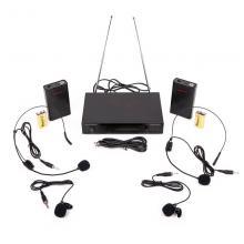 Радиосистема двойная с набором микрофонов Audiovoice WL-22HPM