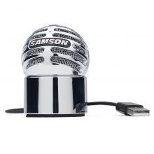 Студийный микрофон Samson METEORITE CHROME USB